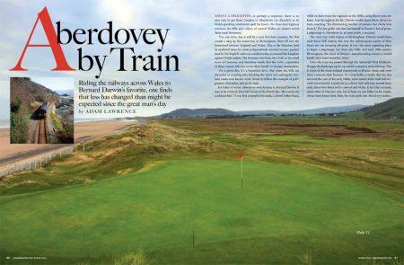Aberdovey By Train